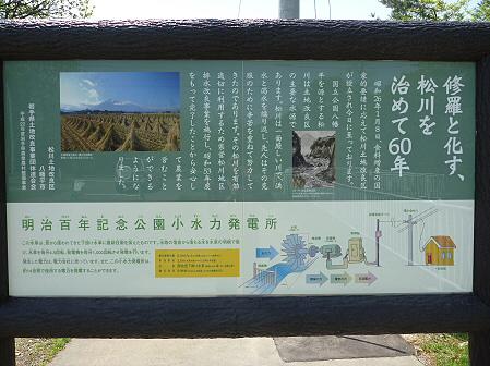 明治百年記念公園03(2011.5.31)小水力発電