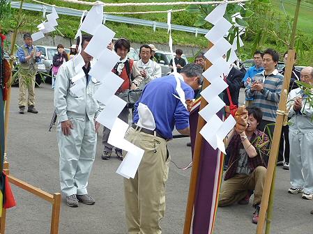 七時雨山の神事15(2011.6.5)