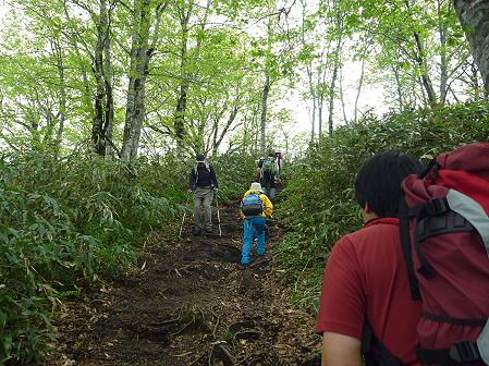 七時雨山開き登山33(2011.6.5)