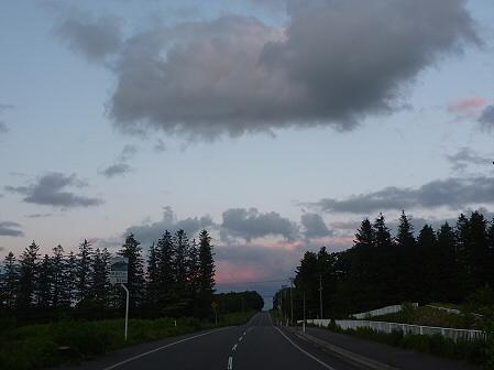夕暮れの岩手山パノラマライン03(2011.6.15)