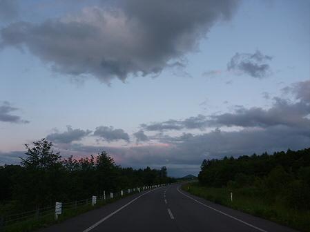 夕暮れの岩手山パノラマライン04(2011.6.15)
