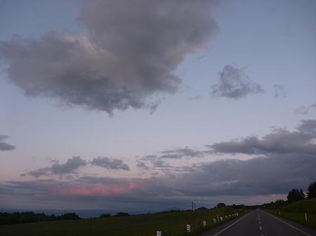夕暮れの岩手山パノラマライン07(2011.6.15)