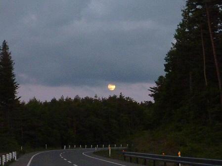 夕暮れの岩手山パノラマライン10(2011.6.15)