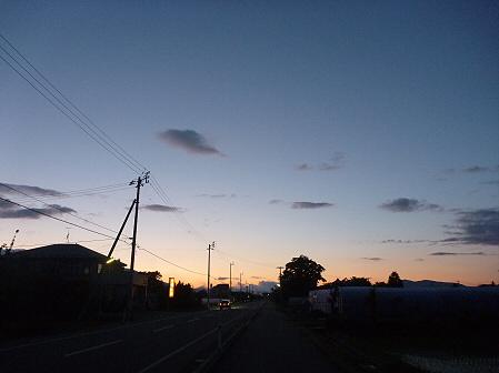 夕暮れの岩手山パノラマライン12(2011.6.15)
