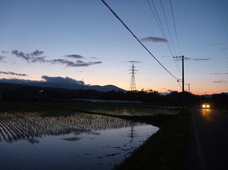 空と雲と田と13(2011.6.15)