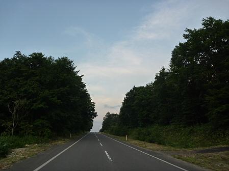 夕方の岩手山パノラマライン02(2011.7.12)