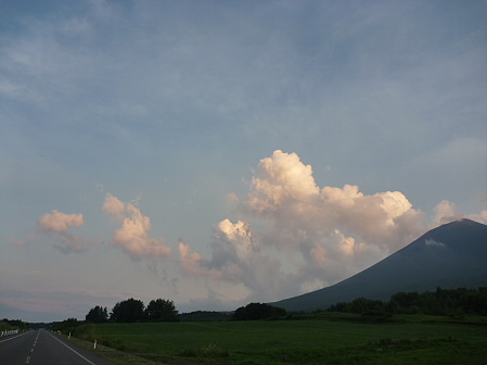夕方の岩手山パノラマライン04(2011.7.12)