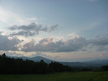 夕方の岩手山パノラマライン05(2011.7.12)