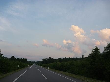 夕方の岩手山パノラマライン07(2011.7.12)