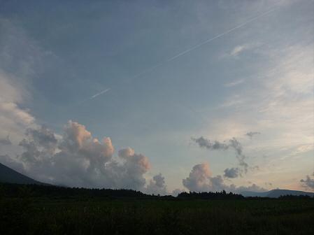 夕方の岩手山パノラマライン08(2011.7.12)