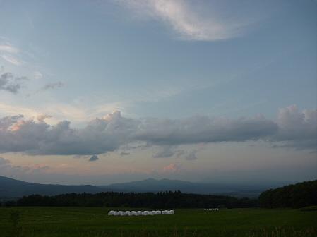 夕方の岩手山パノラマライン09(2011.7.12)