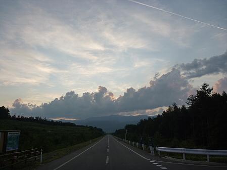 夕方の岩手山パノラマライン10(2011.7.12)