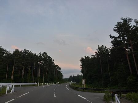 夕方の岩手山パノラマライン11(2011.7.12)