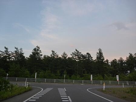 夕方の岩手山パノラマライン12(2011.7.12)