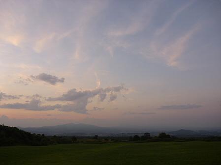 夕方の岩手山パノラマライン15(2011.7.12)