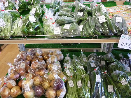 物産館あすぴーての野菜05(2011.7.20)