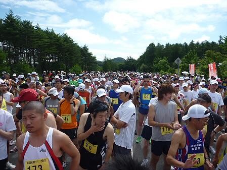 第20回岩手山焼走りマラソン全国大会24(2011.7.24)