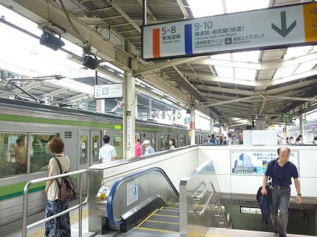 横浜へ行ってみた11(2011.7.29)移動編