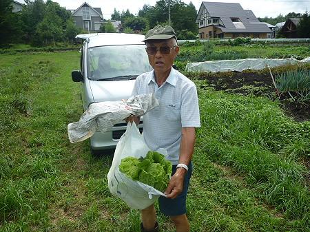 三田村さんの畑17(2011.8.19)