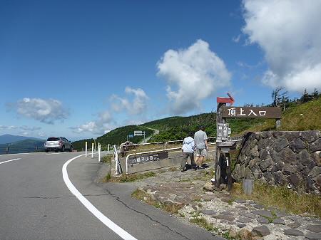 快晴の八幡平山頂02(2011.8.27)