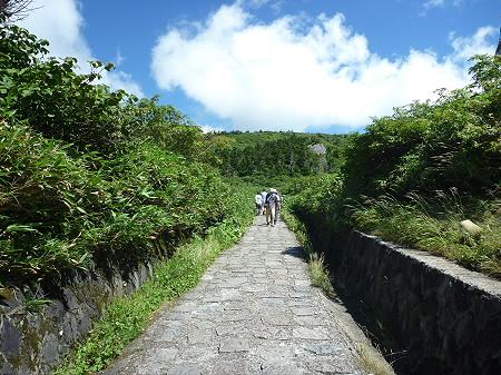 快晴の八幡平山頂05(2011.8.27)