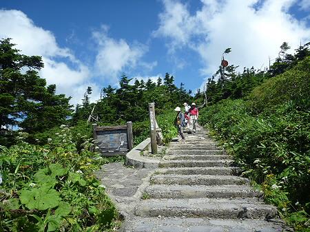 快晴の八幡平山頂09(2011.8.27)