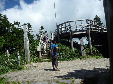 快晴の八幡平山頂26(2011.8.27)