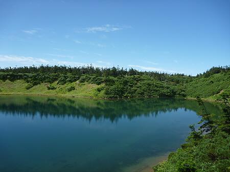 快晴の八幡平山頂34(2011.8.27)