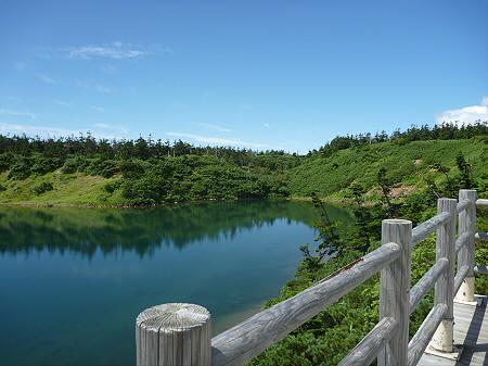 快晴の八幡平山頂35(2011.8.27)