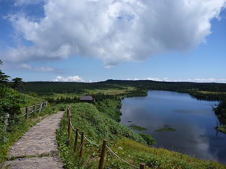 快晴の八幡平山頂40(2011.8.27)