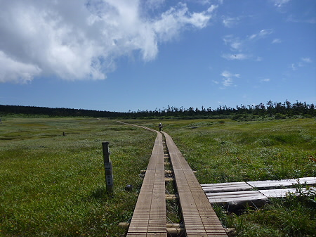 快晴の八幡平山頂55(2011.8.27)