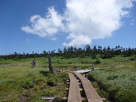 快晴の八幡平山頂72(2011.8.27)