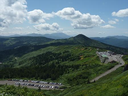 快晴の八幡平山頂91(2011.8.27)
