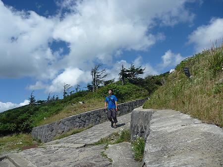 快晴の八幡平山頂99(2011.8.27)