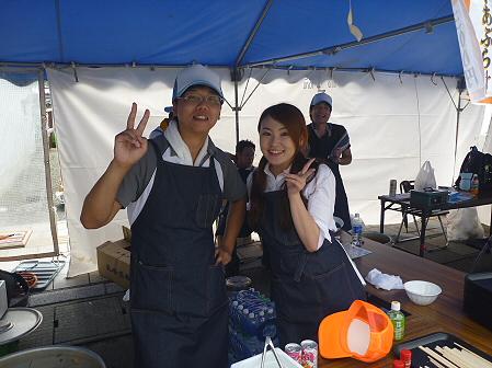 ご当地グルメ博inいわてまち55(2011.9.3)若者風