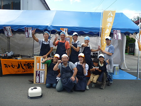ご当地グルメ博inいわてまち35(2011.9.4)若者風