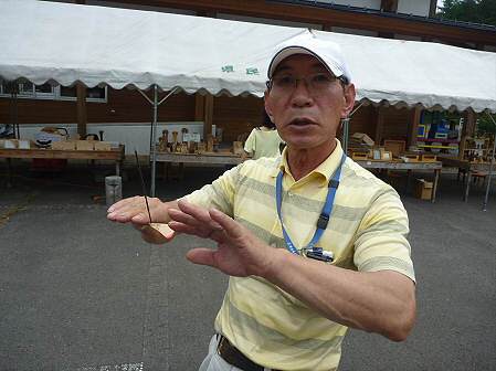 県民の森の竹トンボ20(2011.9.17)