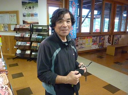 三ツ石山01(2011.9.21)佐々木さん