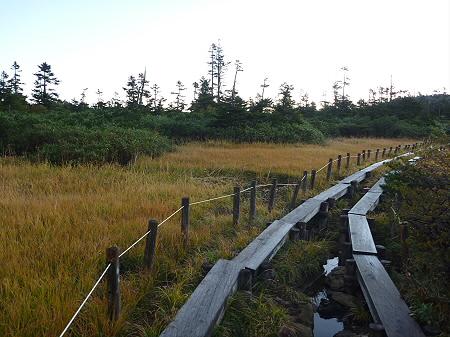 朝の黒谷地湿原06(2011.9.24)