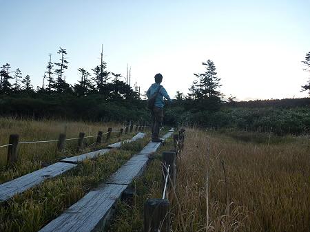朝の黒谷地湿原09(2011.9.24)