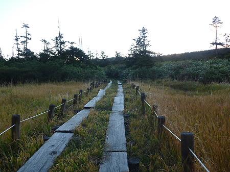 朝の黒谷地湿原11(2011.9.24)