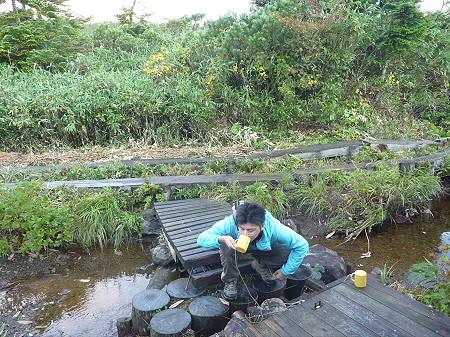 朝の黒谷地湿原14(2011.9.24)