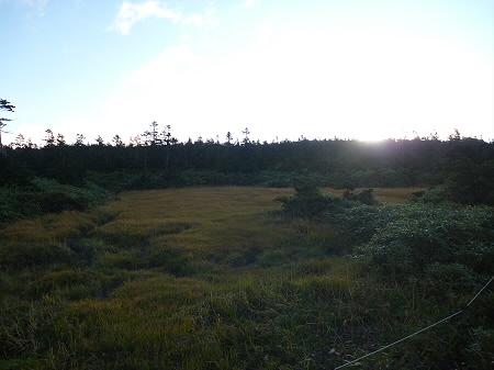 朝の黒谷地湿原30(2011.9.24)