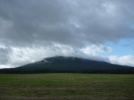 岩手山初冠雪!02(2011.10.3)