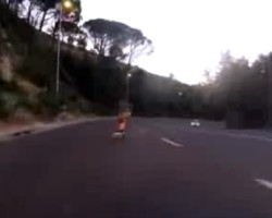 Cape Town Longboarder Triggers Speed Camera