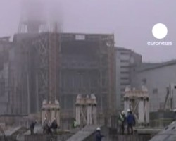Roof collapses at Chernobyl nuclear power plant
