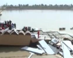 Baghdad restaurant boat sinking