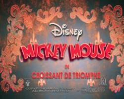 Mickey Mouse Croissant de Triomphe