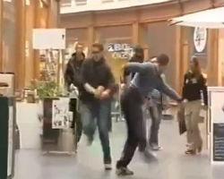 Prank gone wrong KO kick!