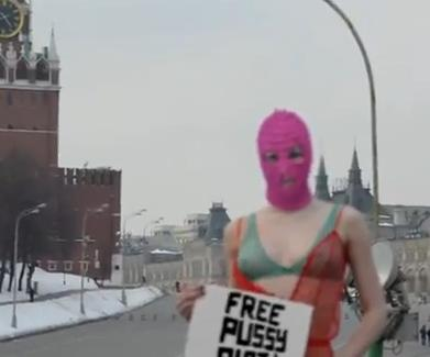 Free Pussy Riot Blitz on Red Square